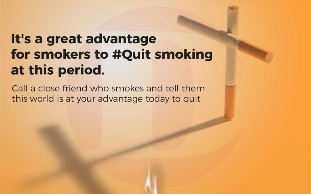 #Quit smoking it's your Advantage today