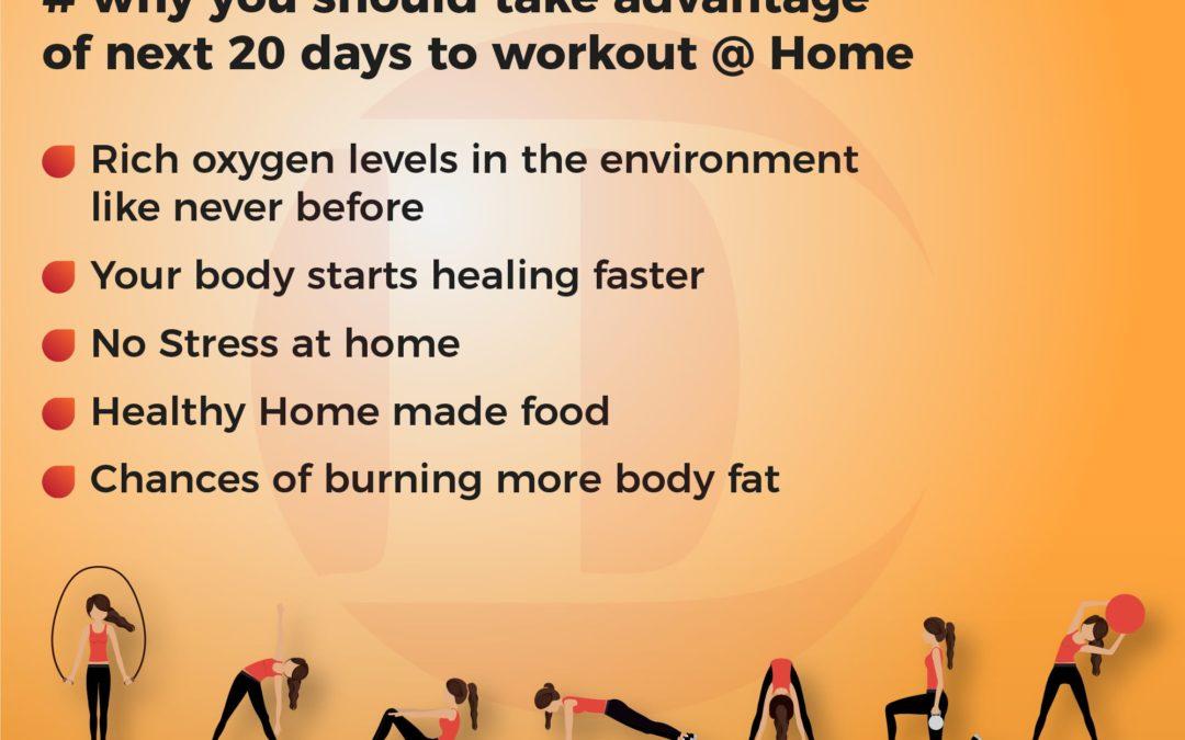 Take advantage of the next 20 days to workout #Day02