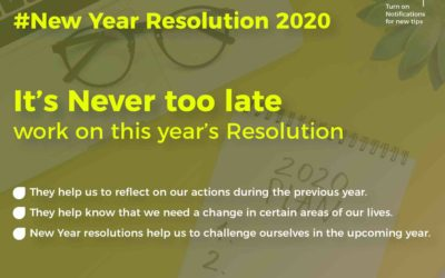 Work on your New Year Resolutions 2020